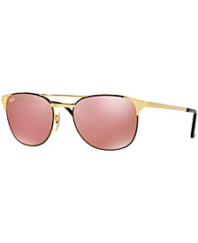 Ray-Ban SIGNET MIRROR COLLECTION Sunglasses, RB3429M 55