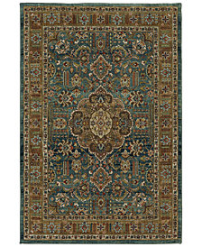 Karastan Spice Market Aksum Aquamarine Area Rug Collection