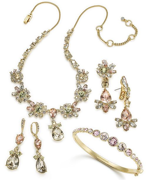 Givenchy Gold and Rose Stone Jewelry Collection