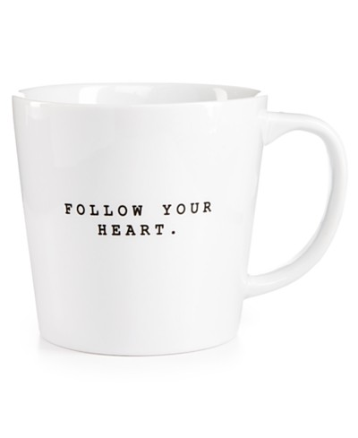 The Cellar Follow Your Heart Mug, Created for Macy's