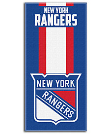 Northwest Company New York Rangers NHL Zone Read Beach Towel