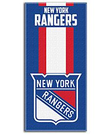 Northwest Company New York Rangers NHL Zone Read Beach Towel