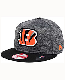 New Era Cincinnati Bengals Shadow Bevel 9FIFTY Snapback Cap