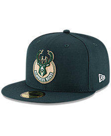 New Era Milwaukee Bucks Solid Team 59FIFTY Cap