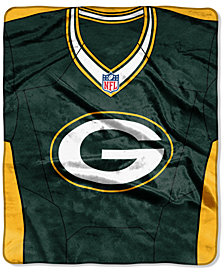 Northwest Company Green Bay Packers Jersey Plush Raschel Throw