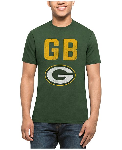 '47 Brand Men's Green Bay Packers City Style Splitter T-Shirt