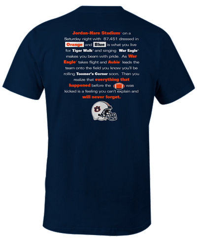 Image One Men's Auburn Tigers Local Tradition T-Shirt