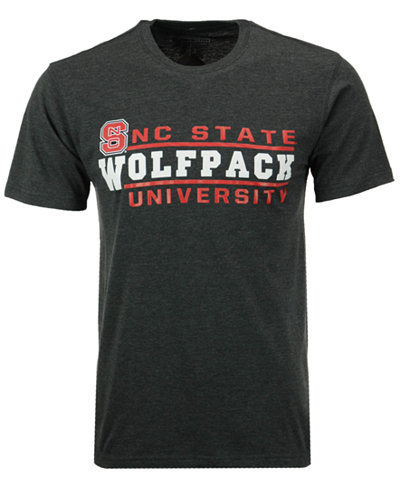 Colosseum Men's North Carolina State Wolfpack Verbiage Stack T-Shirt