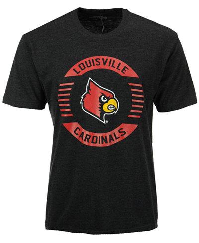 Colosseum Men's Louisville Cardinals Circle Logo T-Shirt