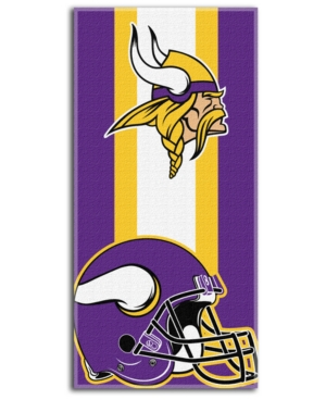 Northwest Company Minnesota Vikings Zone Read Beach Towel