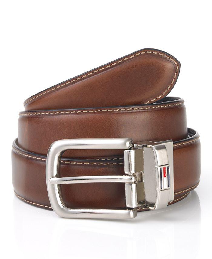 Tommy Hilfiger - Belt, Reversible Leather Dress Belt