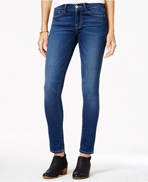 d9a23c6b Tommy Hilfiger Greenwich Skinny Jeans, Created for Macy's & Reviews ...