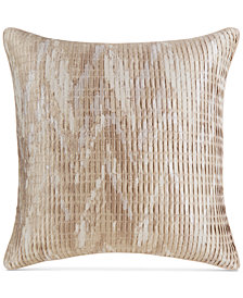 Hotel Collection Distressed Chevron European Sham, Created for Macy's