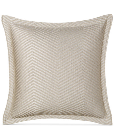 CLOSEOUT! Hotel Collection Woven Accent Quilted European Sham, Created for Macy's