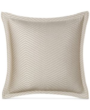 Closeout! Hotel Collection Woven Accent Quilted European Sham, Created for Macy's Bedding 3582499