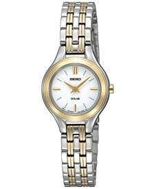 Watch, Women's Solar Two Tone Bracelet 22mm SUP004