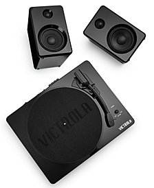 Victrola Turntable & Bluetooth Speakers