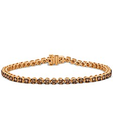 Chocolatier® Diamond Tennis Bracelet (2-3/4 ct. t.w.) in 14k Rose Gold