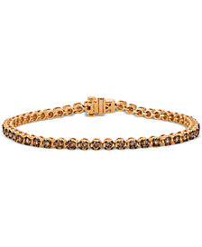 Le Vian Chocolatier® Diamond Tennis Bracelet (2-3/4 ct. t.w.) in 14k Rose Gold