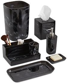 Paradigm Murano Black Bath Accessories Collection