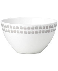 Charlotte Street North Grey Collection Soup/Cereal Bowl