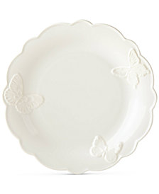 Lenox Butterfly Meadow Carved Collection Dinner Plate