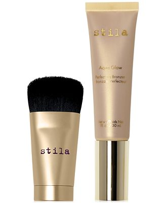 Stila 2-Pc. Aqua Glow Bronzer & Mini Wonder Brush Set