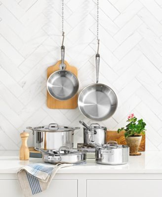 Superb All Clad Stainless Steel 10 Pc. Cookware Set Idea