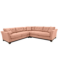 Michelle 3-Pc. Sectional, Created for Macy's