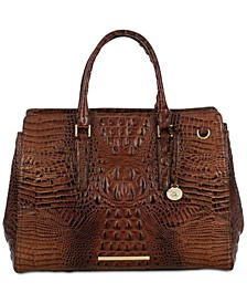 Finley Carryall Melbourne Embossed Leather Tote