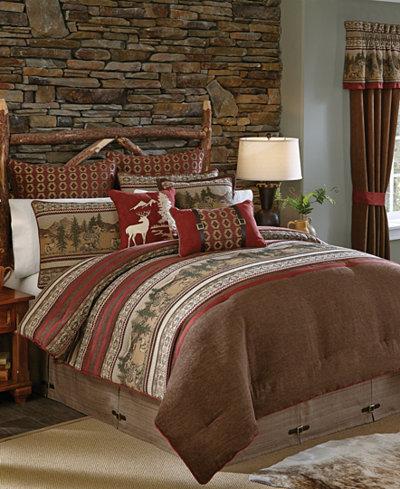 Croscill Oakwood California King Comforter Set