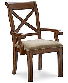 Mandara X-Back Armchair