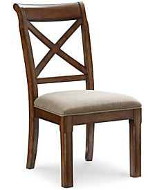Closeout! Mandara X-Back Side Chair
