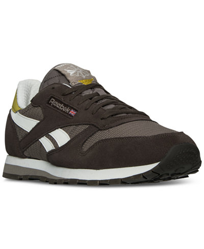 reebok men's snipes classic leather camp out casual