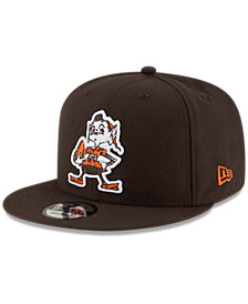 New Era Cleveland Browns Historic Vintage 9FIFTY Snapback Cap