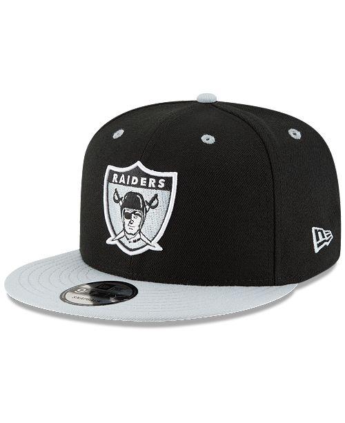 New Era Oakland Raiders Historic Vintage 9FIFTY Snapback Cap
