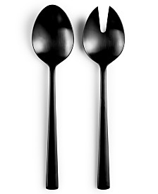 Hotel Collection Black 2-Pc. Serving Set, Created for Macy's