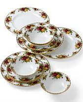Royal Albert Old Country Roses 12-Piece Dinnerware Set e0ca87c5c7