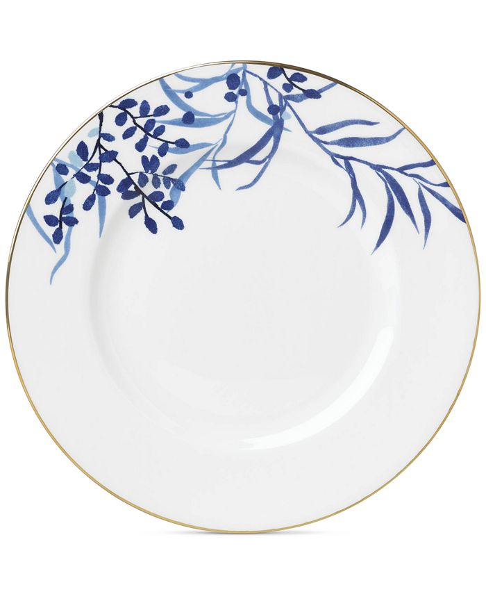 kate spade new york - Birch Way Navy Collection Dinner Plate