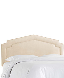 Chatman Queen Notched Headboard, Quick Ship