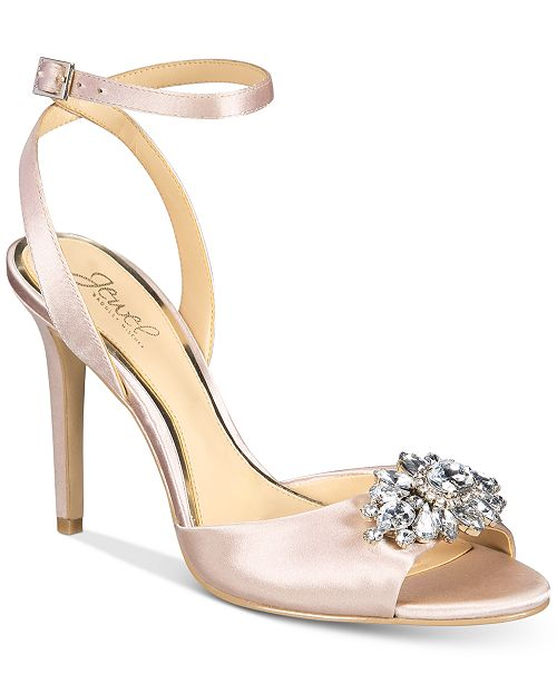 90ad35cc0f15 Jewel Badgley Mischka Hayden Embellished Sandals   Reviews - Pumps ...