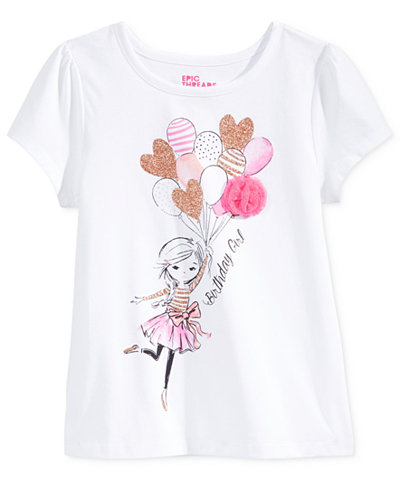 Epic threads mix and match kristy birthday girl graphic for Graphic t shirts for kids
