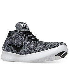 Nike Men's Free Run Flyknit Running Sneakers from Finish Line