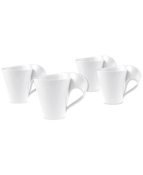 Villeroy & Boch New Wave Collection 4-Pc. Mug Set, Created for Macy's