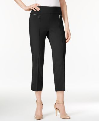 Image of Style & Co Pull-On Cropped Pants, Only at Macy's