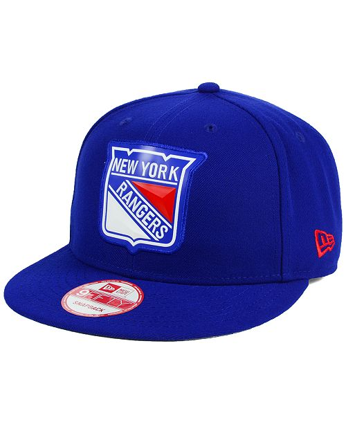 cdad69e1bebad New Era. New York Rangers Bevel 9FIFTY Snapback Cap. Be the first to Write  a Review. main image ...