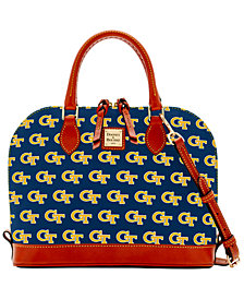Dooney & Bourke Georgia Tech Yellow Jackets Zip Zip Satchel