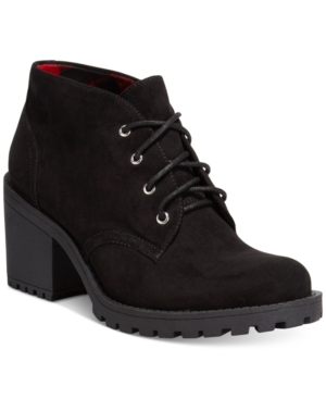 Image of American Rag Reaghan Hiker Booties, Created for Macy's Women's Shoes