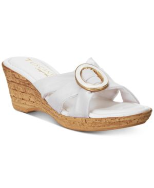 Easy Street Tuscany Conca Wedge Sandals Women