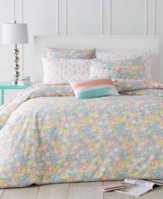 whim by martha stewart collection flower crown 5 piece comforter sets created for macyu0027s bed in a bag bed u0026 bath macyu0027s - Twin Xl Comforters